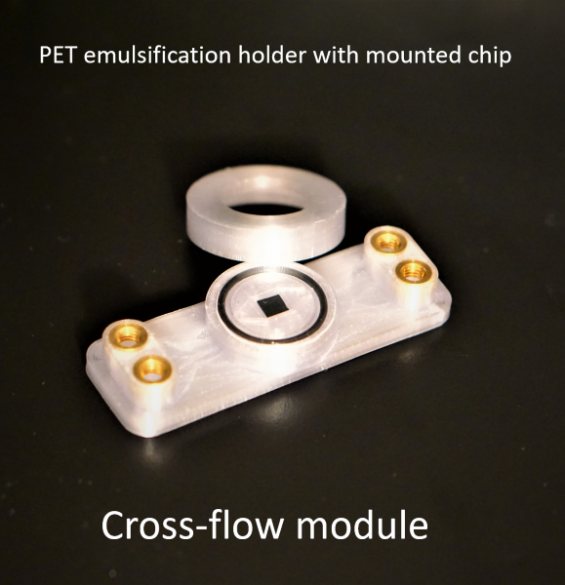 cross-flow holder