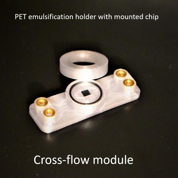 cross-flow holder